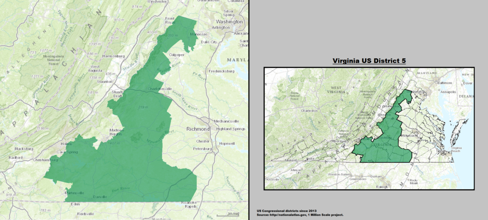 Virginia's 5th congressional district - Howling Pixel