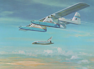 Conroy Virtus Proposed American large transport aircraft intended to carry the Space Shuttle
