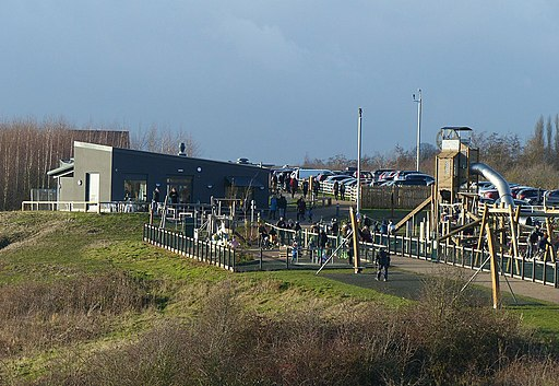 Visitor centre at gedling country park