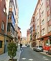 Vista de la calle Jacinto Benevente. Oviedo.jpg