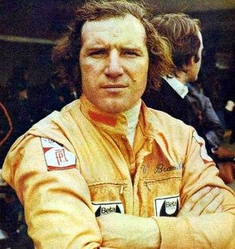 1975 Austrian Grand Prix - Italian Vittorio Brambilla, winner in a March-Ford