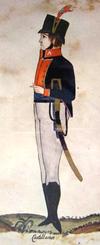 VizcainosCastellanos-soldado-Liniers1807