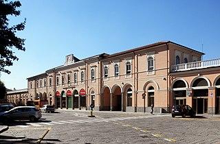 Voghera railway station railway station
