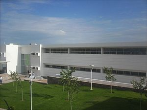 Español: Edificio A de Arquitectura y Diseño, ...