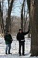Volunteers checking tree (6788988482).jpg