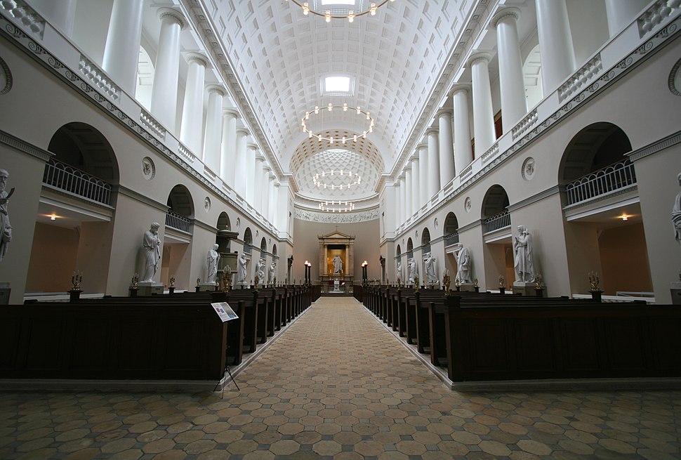 Vor Frue Kirke Copenhagen interior