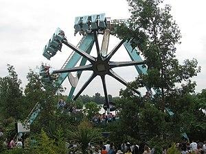 Vortex (Thorpe Park) - Image: Vortex Thorpe Park geograph.org.uk 1294891