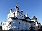 Voznesenskaya Davidova Pustyn - Cathedral of the Ascension, St Nicholas Church & Cathedral Of Our Saviour.jpg