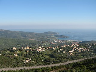 Tomino Commune in Corsica, France