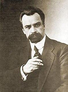 Ukrainian writer, playwright, artist, political activist, revolutionary, politician, and statesman