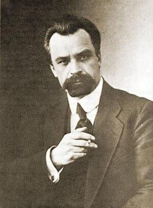 President of Ukraine - 2nd president Volodymyr Vynnychenko (1918–19).
