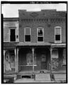 WEST FRONT - North Sixth Street (Houses), Harrisburg, Dauphin County, PA HABS PA,22-HARBU,10-1.tif