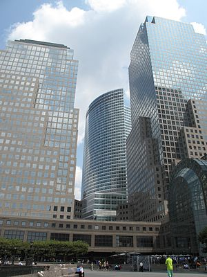 250 Vesey Street - (l-r) 4 World Financial Center, 200 West Street, 3 WFC