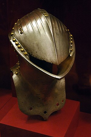 Frog-mouth helm - German stechhelm, c. 1500