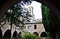 WLM14ES - Torre de les hores i Claustre exterior, Reial Monestir de Santes Creus, Aiguamurcia, Alt Camp - MARIA ROSA FERRE.jpg