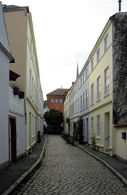Steinstraße in Lübeck