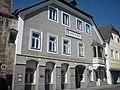 Waidhofen Ybbs.Rathaus vom Oberen Stadtplatz aus.JPG