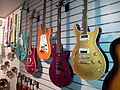 Wall of guitars, Museum of Making Music.jpg