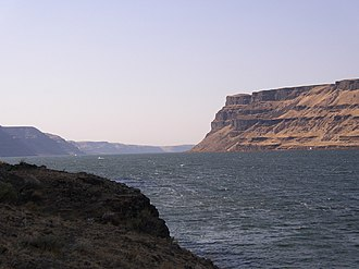 Wallula Gap - Image: Wallula Gap Looking South