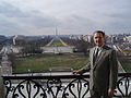 Wally Herger on Balcony.JPG