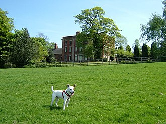Edward Cromwell Disbrowe - Disbrowe's birthplace - Walton Hall, Walton-on-Trent