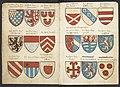 Wapenboek Beyeren (armorial) - KB79K21 - folios 004v (left) and 005r (right).jpg