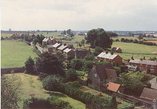 Wappenham village in United Kingdom