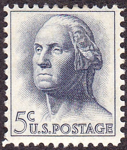 Washington 1962 Issue-5c