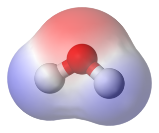 Chemical polarity electrostatic property of a molecule