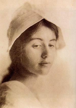 "Eva Watson-Schütze - ""A Study Head"", by Eva Watson-Schütze. Photogravure published in Camera Notes, Vol 4 No 3, January 1901"