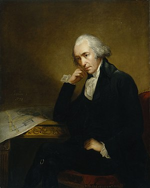 Industrial Revolution - James Watt improved on Newcomen's 1712 steam engine with his Watt steam engine in 1781