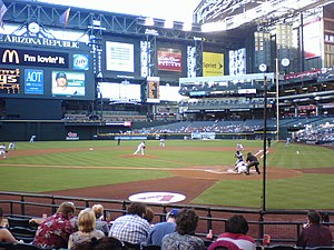 Inside of Chase Field