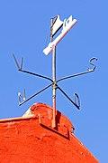 Weather Vane in Town Snogebaek on Island Bornholm, Denmark.jpg