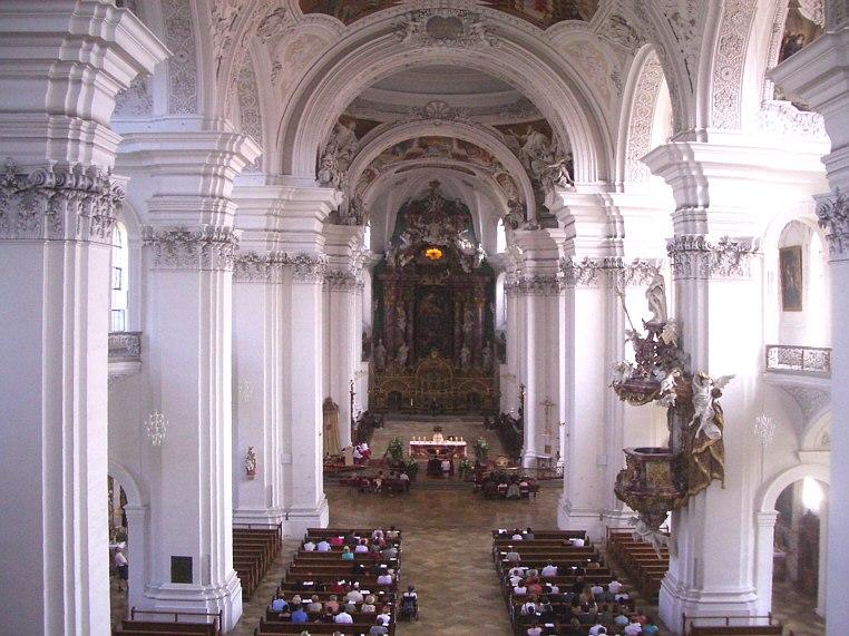 Weingarten Basilika Hauptschiff