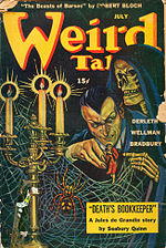 Weird Tales cover image for July 1944