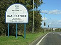 Welcome to Basingstoke - geograph.org.uk - 73847.jpg