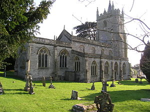 West Pennard - Image: West Pennard church
