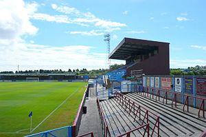 Bob Lucas Stadium - Image: Weymouth FC geograph.org.uk 906677