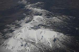 Snake Range - Wheeler Peak and the Snake Range, looking north