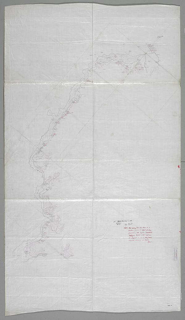 600px white nile from l.albert to dufile.   war office ledger. %28womat afr bea 53%29