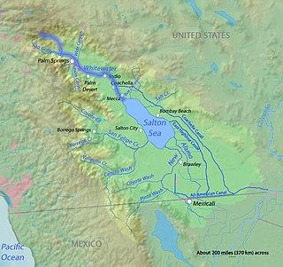 Whitewater River (California) stream in California