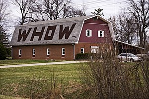 WHOW - WHOW's Big Red Barn studios (2009)