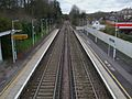 Whyteleafe South stn high northbound.JPG