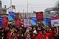 Wien - 2018-01-13 - Großdemo gegen Schwarz-Blau - 05 - GewerkschafterInnen gegen Rassismus und Sozialabbau.jpg