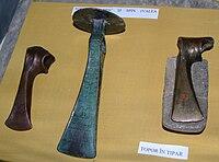 Wietenberg culture axes at National Museum of Transylvanian History 2007.jpg