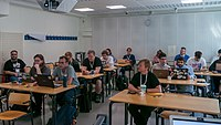 Wikimania 2019 Multimedia Space, Stockholm (P1090701).jpg