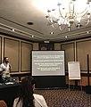 Wikimedia vs. Disinformation at Wikimania 2018.jpg