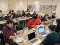 Wikipedians at the Baltimore Museum of Art editathon.JPG