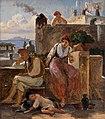Wilhelm Marstran, Scene af det napolitanske folkeliv, 1839, 0097NMK, Nivaagaards Malerisamling.jpg