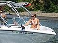 Willamette Jetboats, Topless Girl, Portland, OR 2006 (6512164795).jpg